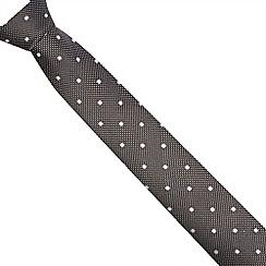 J by Jasper Conran - Designer black polka dot tie