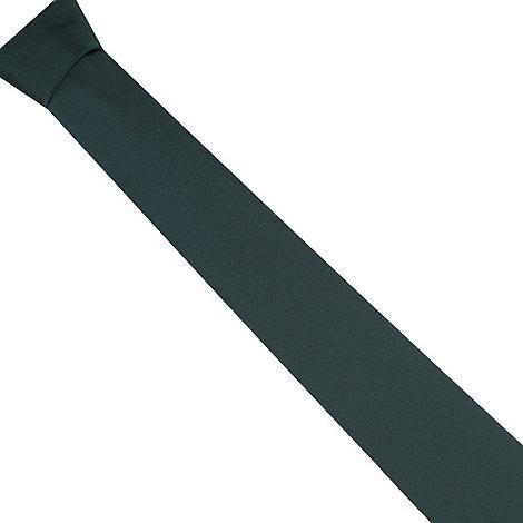 Thomas Nash - Dark green plain tie