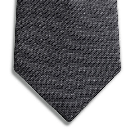 Thomas Nash - Grey textured silk tie