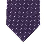 Purple polka dot tie