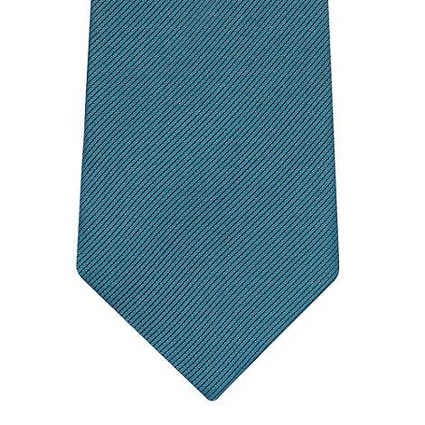 Thomas Nash - Turquoise woven silk tie