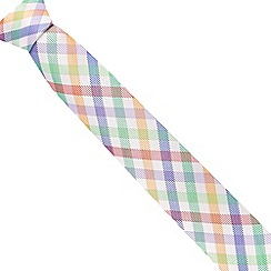 Thomas Nash - White checked tie