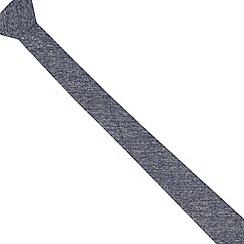 Red Herring - Light blue textured skinny tie