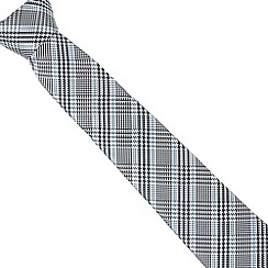 J by Jasper Conran - Designer light blue dogtooth silk tie