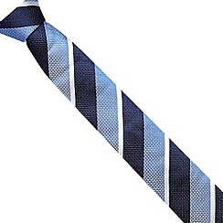 J by Jasper Conran - Designer blue striped silk tie