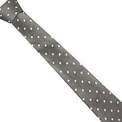 J by Jasper Conran - Designer bronze textured spot silk tie