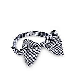 Hammond & Co. by Patrick Grant - Grey dogtooth bow tie