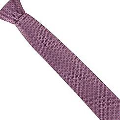 The Collection - Pink mini diamond print tie