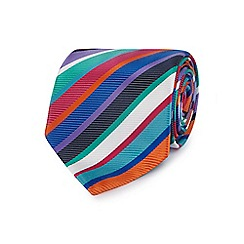 The Collection - Green bright striped tie
