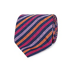 The Collection - Pink striped regular tie