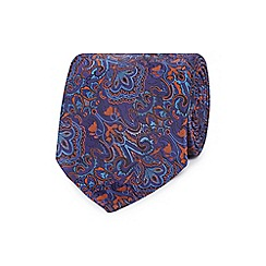 The Collection - Purple oriental regular tie