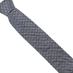 The Collection - Pink mini diamond print tie