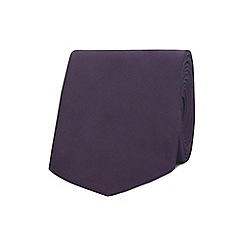 The Collection - Purple slim tie