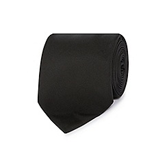 The Collection - Black slim tie