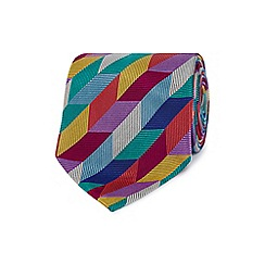 Thomas Nash - Blue silk rectangle tie
