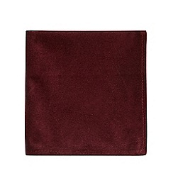 Black Tie - Dark red pocket square