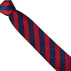 Osborne - Red rugby stripe tie