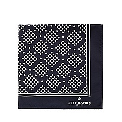 Jeff Banks - Navy spotted pocket square