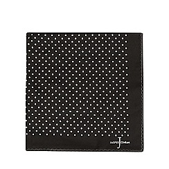 J by Jasper Conran - Black spotted print handkerchief