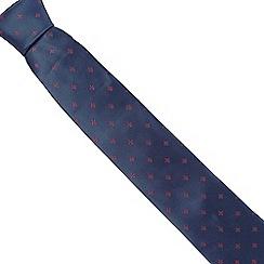Osborne - Pink fleur-de-lis silk tie