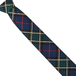 Hammond & Co. by Patrick Grant - Green tartan tie