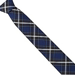 Hammond & Co. by Patrick Grant - Blue tartan tie