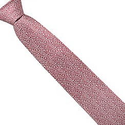 Thomas Nash - Red ditsy print tie
