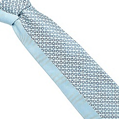The Collection - Pack of two blue floral ties
