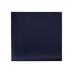 Black Tie - Navy textured pocket square