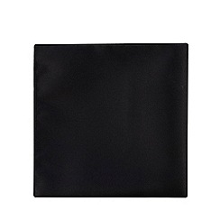 Black Tie - Black textured pocket square