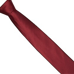 Thomas Nash - Wine pure silk tie