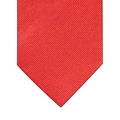 Thomas Nash - Red fine striped silk tie