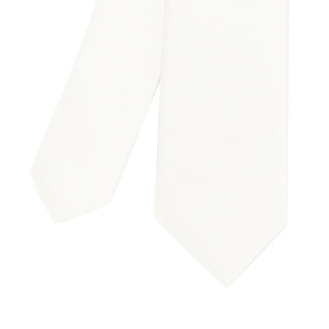 Red Herring - Ivory skinny tie