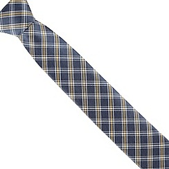 Jeff Banks - Blue diamond checked tie