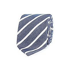 Jeff Banks - Blue striped tie