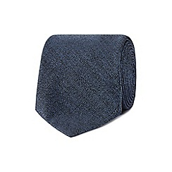 Jeff Banks - Blue textured tie