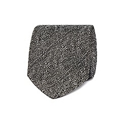Jeff Banks - Grey textured tie