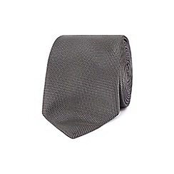 Red Herring - Grey slim textured tie