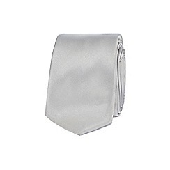 Red Herring - Silver skinny tie
