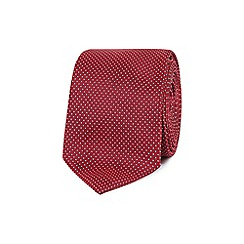 Red Herring - Red pin dot slim tie