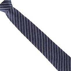 Jeff Banks - Blue striped silk tie