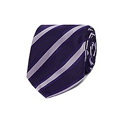 Jeff Banks - Purple striped tie