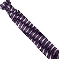 Osborne - Red ring patterned tie