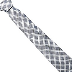 Hammond & Co. by Patrick Grant - Blue checked tie