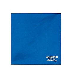 Hammond & Co. by Patrick Grant - Blue paisley print handkerchief
