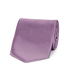 The Collection - Lilac machine washable tie