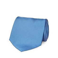 The Collection - Blue plain tie