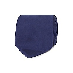 The Collection - Navy machine washable tie