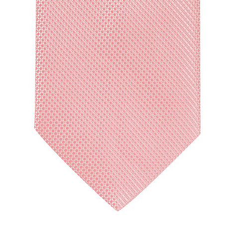 Thomas Nash - Pink mini diamond patterned tie