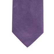 Purple mini diamond textured tie